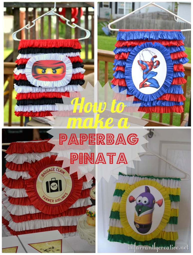 how to make a pinata. Black Bedroom Furniture Sets. Home Design Ideas