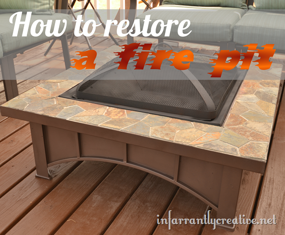 Repairing A Fire Pit Pan