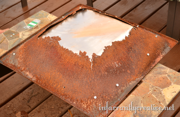 How To Restore A Fire Pit Ash Pan Infarrantly Creative