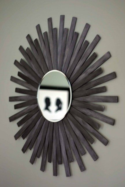 Our Humble A{bow}ed sunburst mirror