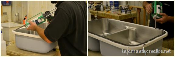 karran undermount sink