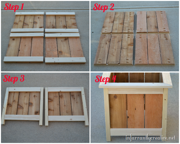 Cedar Planter Box Diy