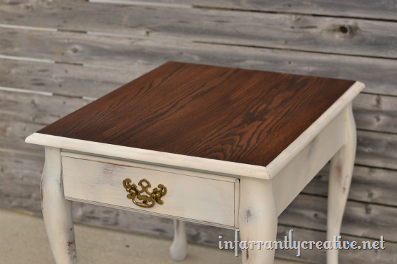 . Queen Anne End Table Makeover