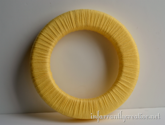 yarn_wrapped_yellow_wreath