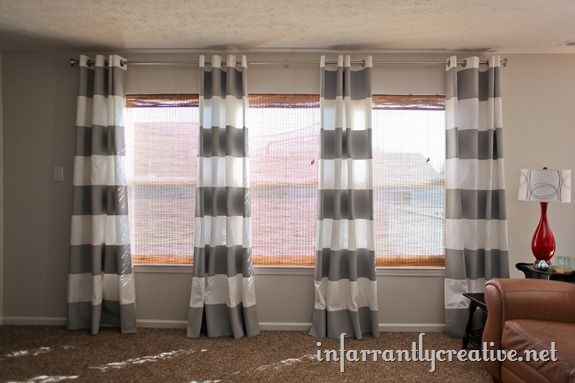 curtain three striped sale curtains hot chenille p in colors
