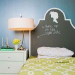 Inspired M Stevens chalk headboard