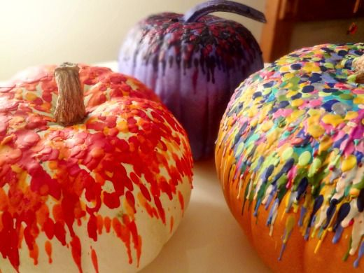 The Swede Records crayon pumpkins