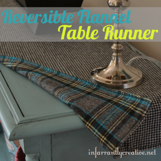 Easy Reversible Table Runner