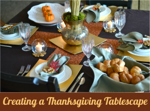 Wayfair Thanksgiving Tablescape