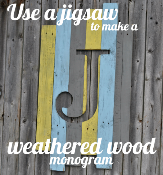 Weathered Wood Monogram