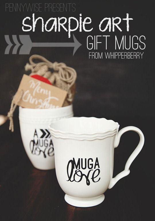 Sharpie Marker Gift Mugs Infarrantly Creative