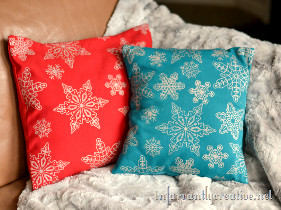 snowflake_screenprinted_pillow