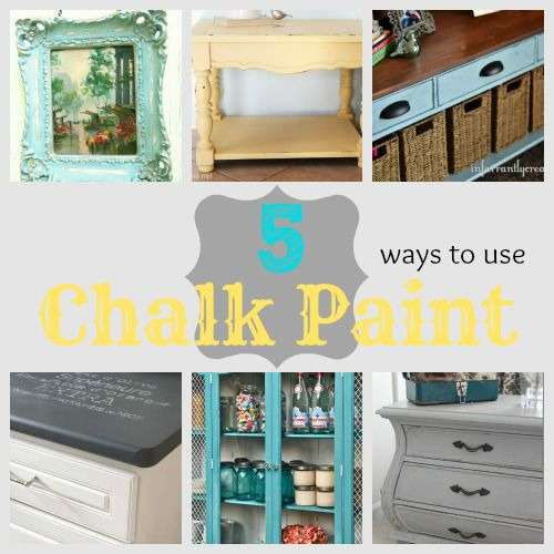 5 Ways to Use Chalk Paint