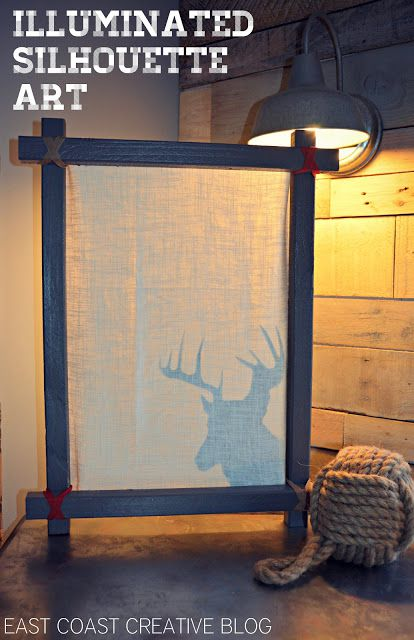 Illuminated Deer Art