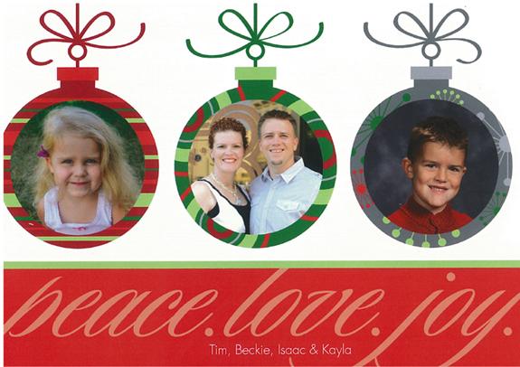 farrant christmas card