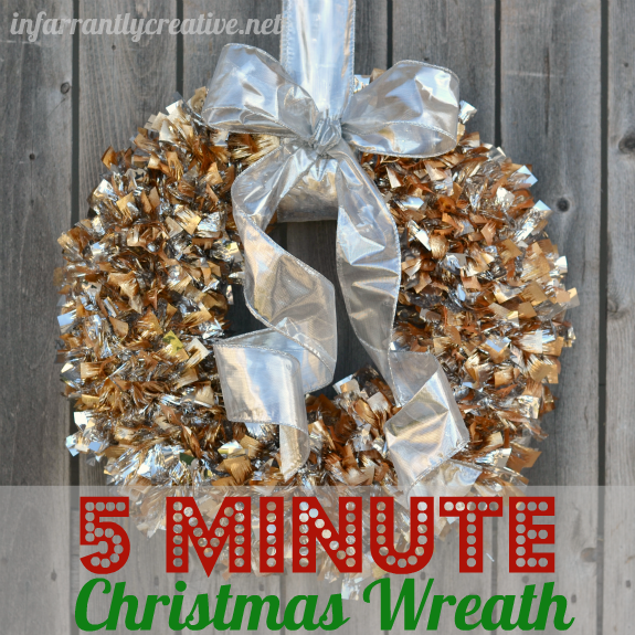 Simple christmas wreath infarrantly creative Christmas wreaths to make