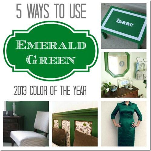 Emerald Green Pin Pic