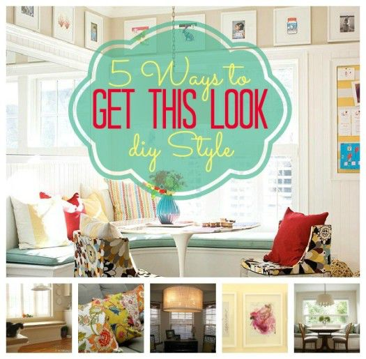 Get This Look Banquette Dining