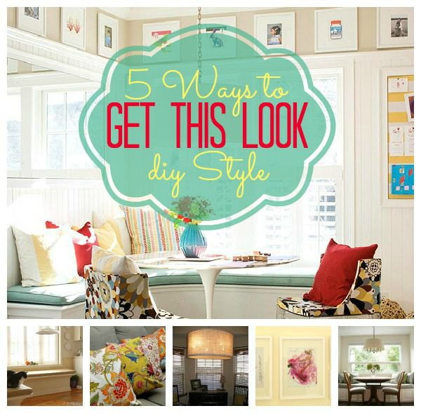 5 Ways to Get This Look: Banquette Dining