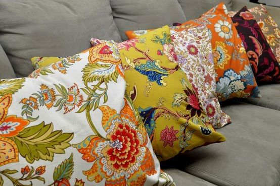 Lauren Dahl napkin pillows