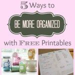 Printable Organizers feature pic