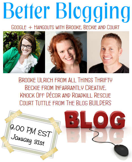 better blogging jan 31