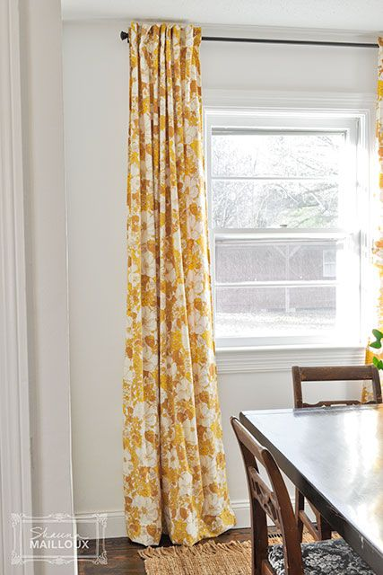 Beautiful Matter sheet curtains