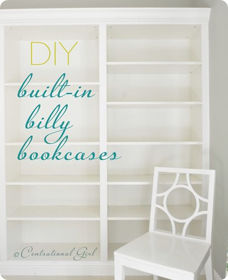 Centsational Girl diy bookcases
