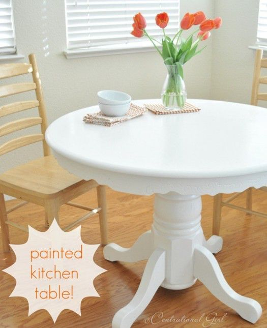 Centsational Girl painted table
