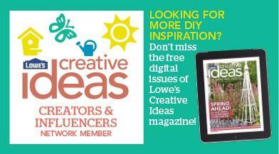 lowes creative ideas blogger