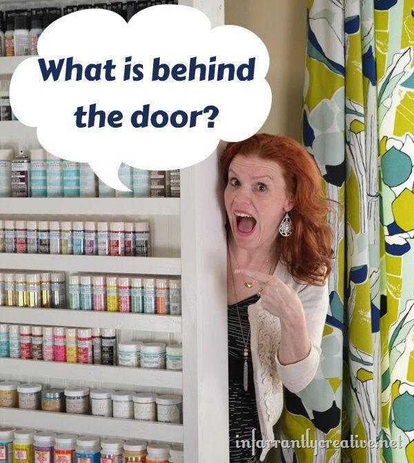 hidden door shelf