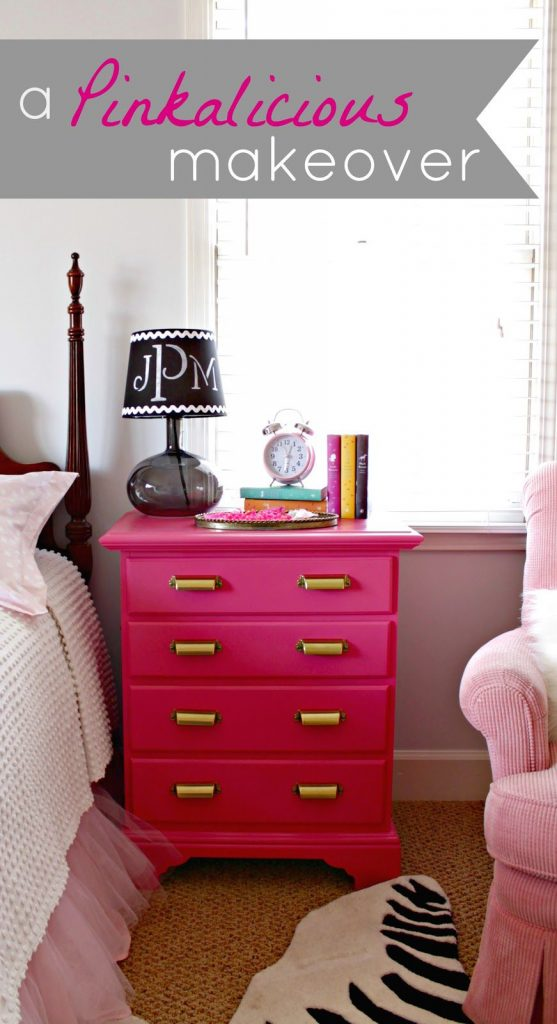 pink nightstand infarrantly creative