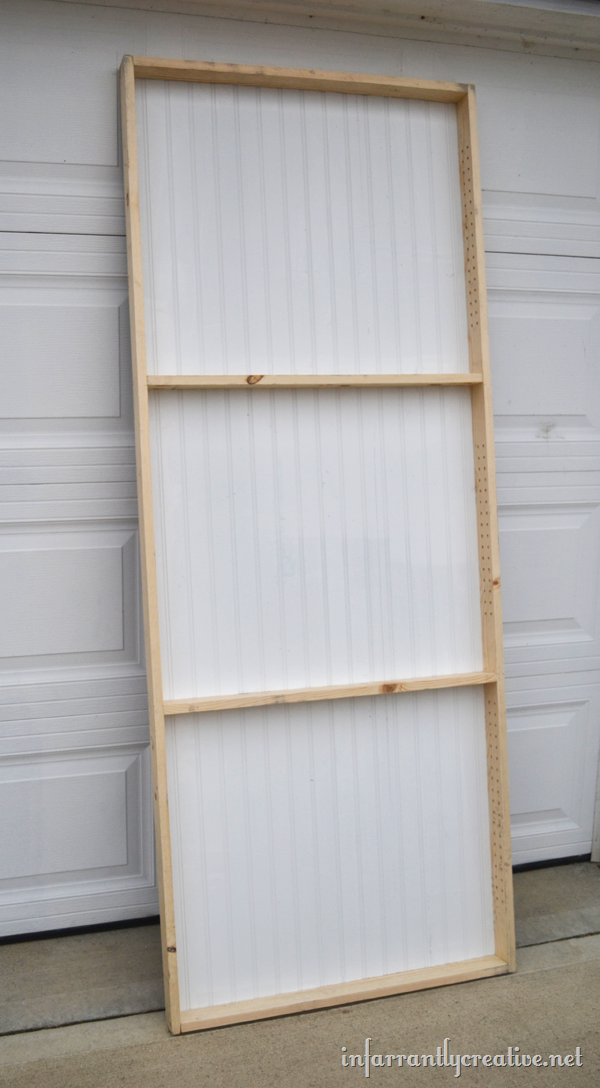 paint shelf door