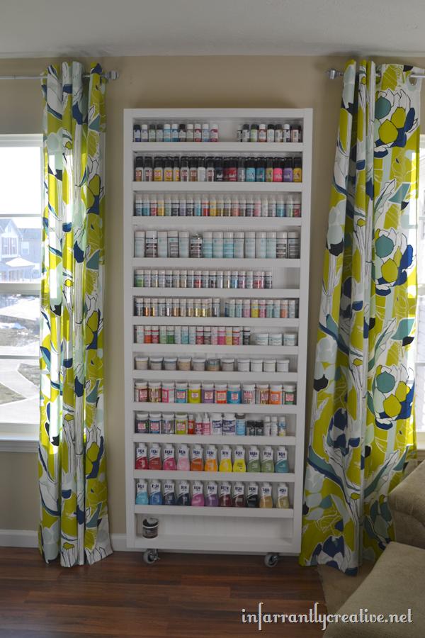 Paint Shelf With Hidden Door Infarrantly Creative