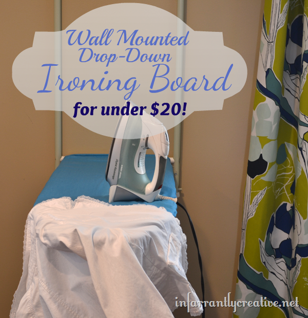 how to build drop down ironing board | Wall Mount Ironing Board For Cheap!