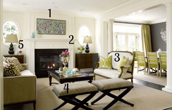 5 Ways to Get This Look: Formal Living Room