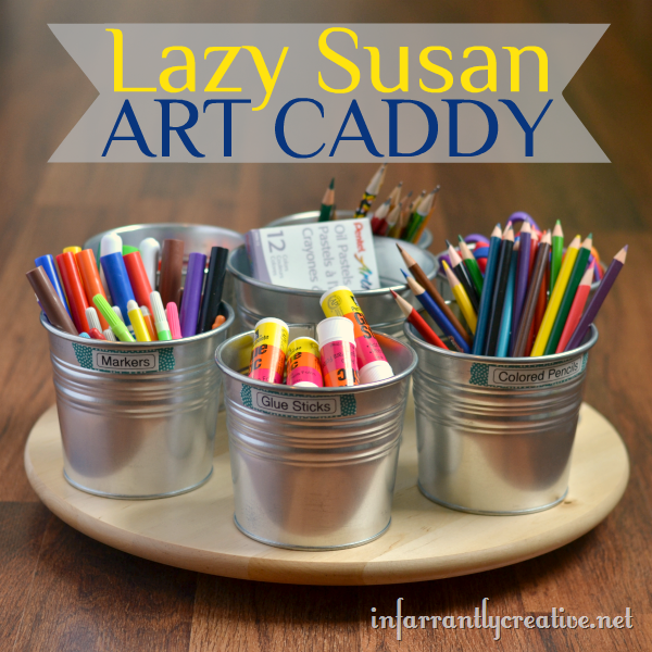Art Supplies Caddy Infarrantly Creative
