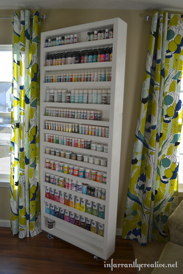 craft paint storage