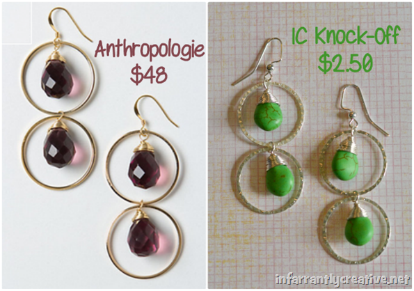 Piccadilly Earrings {Anthro-Knock-Off}