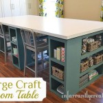 large craft table