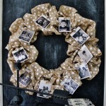 Burlap-photo-wreath
