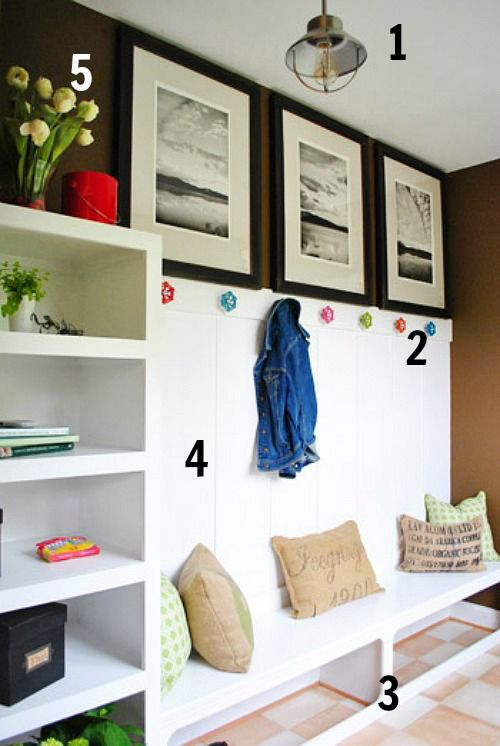 Mudroom Feature Pic numbered