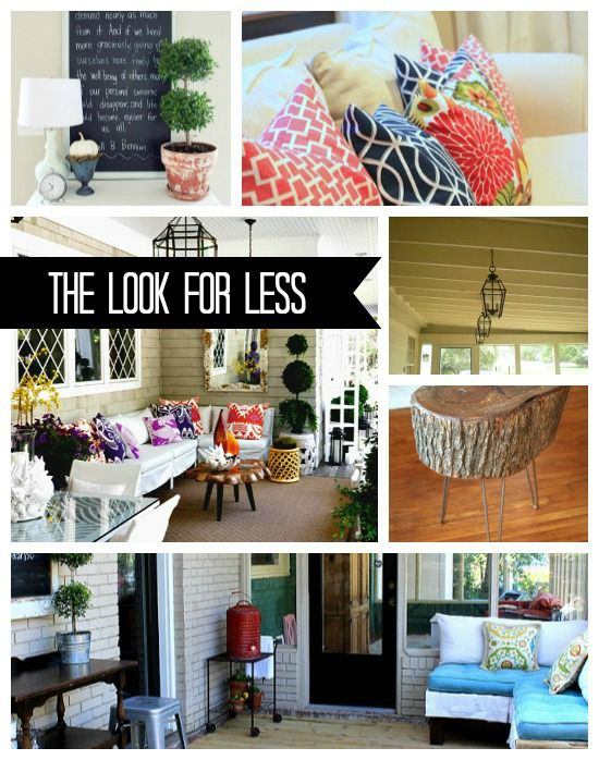 5 Ways To Get This Look Summer Porch Infarrantly Creative