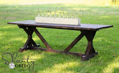 Shanty2Chic outdoor table