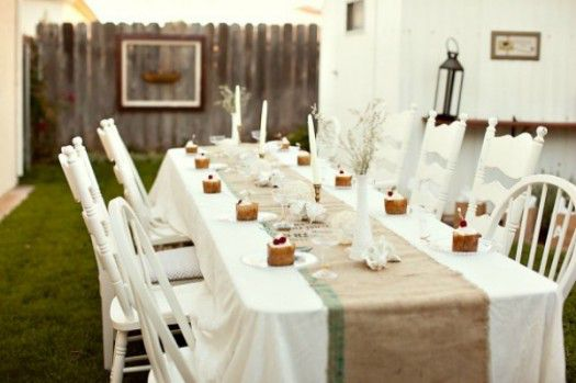 The Sweetest Occasion backyard dinner party