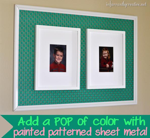 Painted Sheet Metal frame