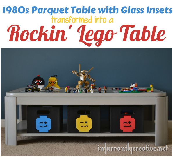 DIY Lego Table Transformation