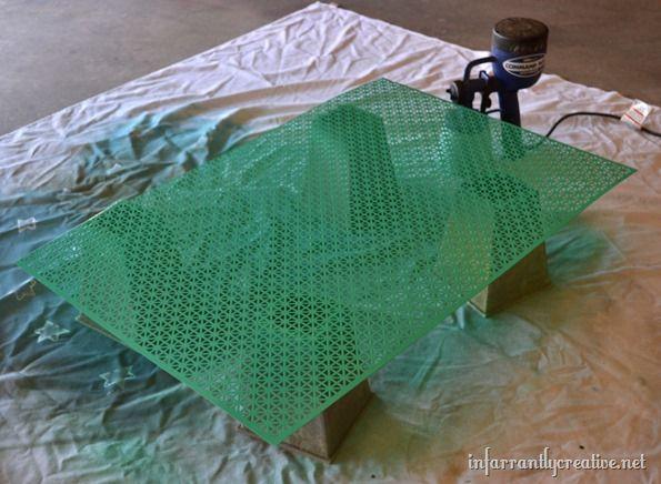 pantone emerald green project