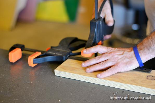 making a jig to make limb photo holders