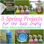 5 Easy Spring Tutorials from Infarrantly Creative